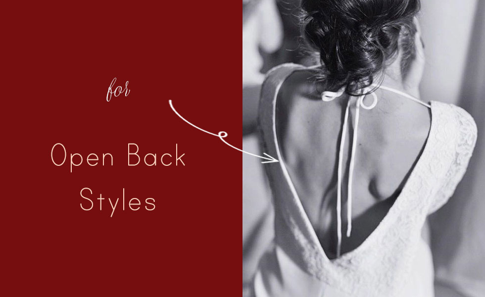 for Open Back Styles